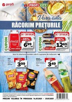 Oferte Supermarket în catalogul PROFI ( 4 zile)