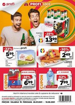 Oferte Supermarket în catalogul PROFI ( 5 zile)