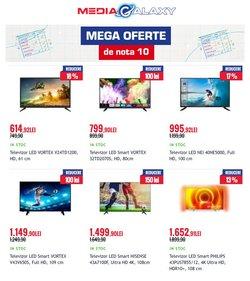 Oferte Electronice și electrocasnice în catalogul Media Galaxy ( 11 zile)