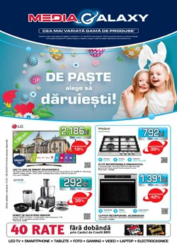 Media Galaxy offers in the Bucareșt catalogue