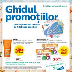 Sensiblu offers in the Bucareșt catalogue