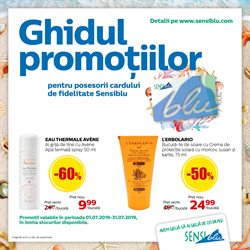 Sensiblu offers in the Iași catalogue
