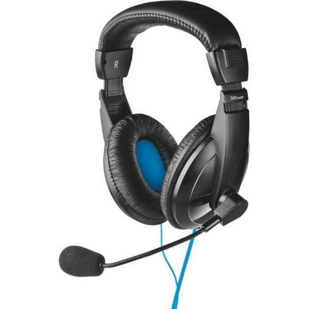 Ofertă Casti PC On-Ear Trust Quasar, Negru_1 39,99 lei