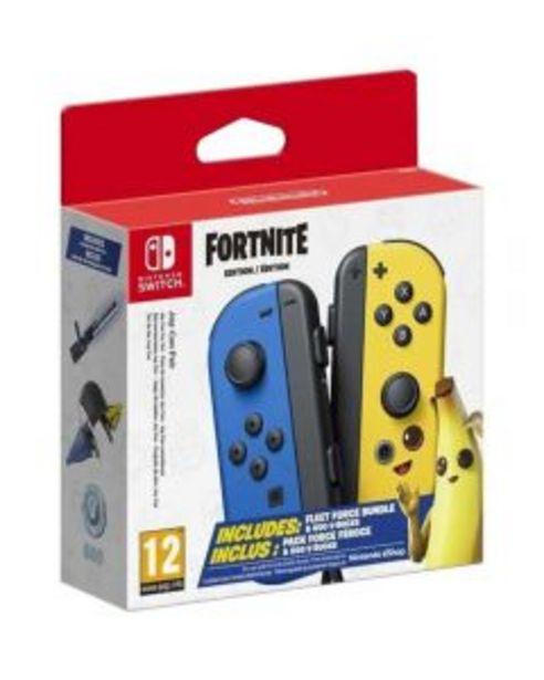 Ofertă Joy-Con Pair Switch Fortnite Edition pentru Nintendo Switch 399,99 lei