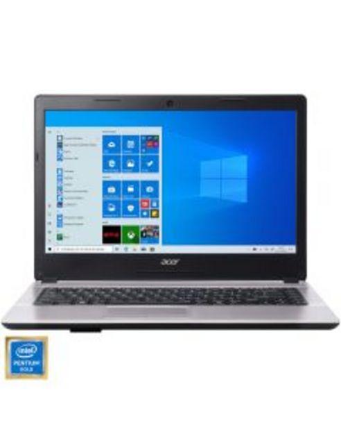 Ofertă Laptop Acer One 14, Intel® Pentium® Gold 4415U, 4GB RAM, HDD 1TB, Intel® HD Graphics, Windows 10 Home 1899,99 lei
