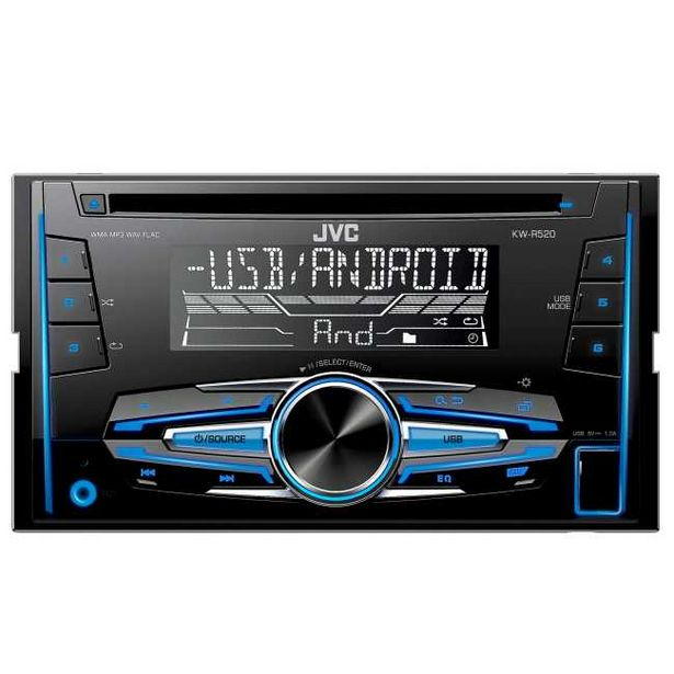 Ofertă Radio CD auto JVC KW-R520_1 399,99 lei