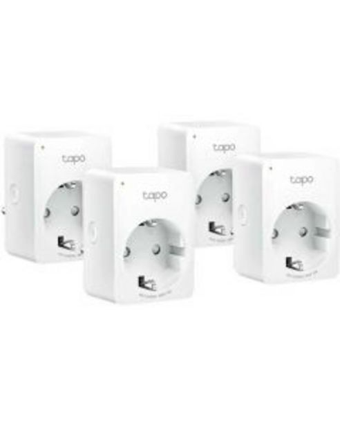 Ofertă Priza inteligenta TP-Link Mini Smart Tapo P100, Wi-Fi, 4 pack 229,99 lei