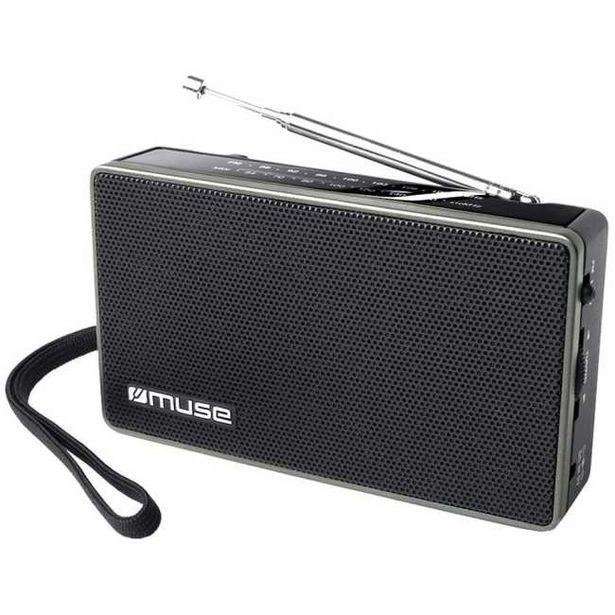 Ofertă Radio portabil Muse M-030 R, Jack, Negru 49,99 lei
