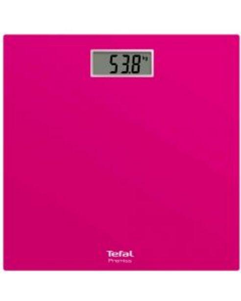 Ofertă Cantar electronic Tefal Premiss PP1403V0, 150 kg, Roz 59,99 lei