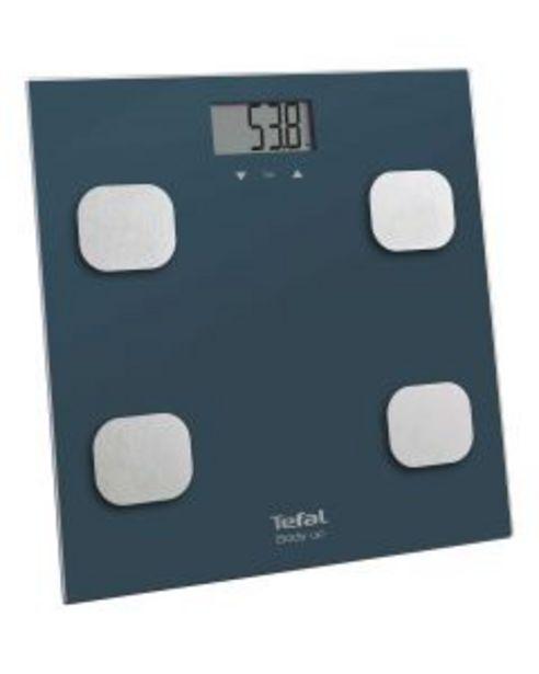 Ofertă Cantar electronic Tefal Body Up BM2520V0, 150 kg, Albastru 104,99 lei