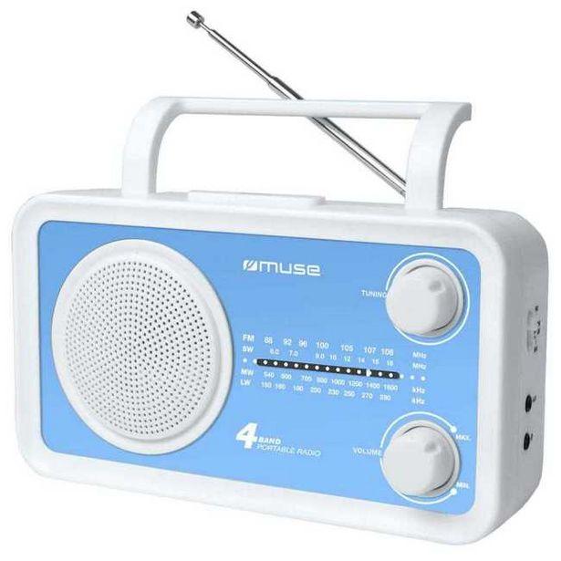 Ofertă Radio portabil Muse M-05 BL, Turcoaz_1 69,99 lei