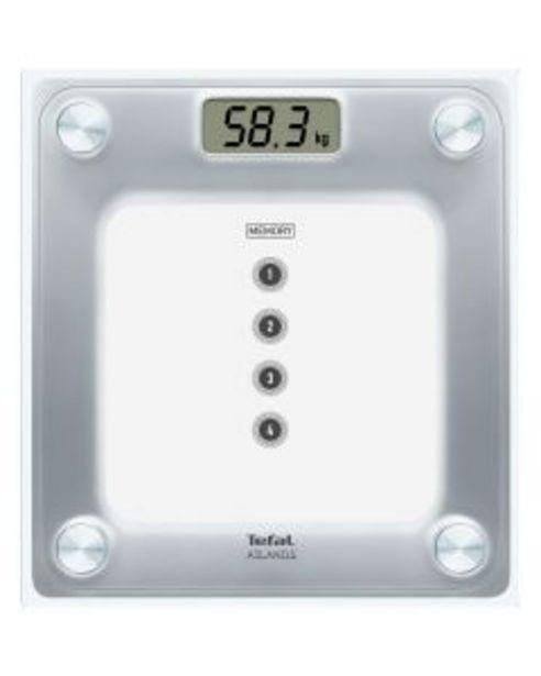 Ofertă Cantar electronic Tefal Atlantis Memo PP3020, 160 kg, Argintiu 119,99 lei