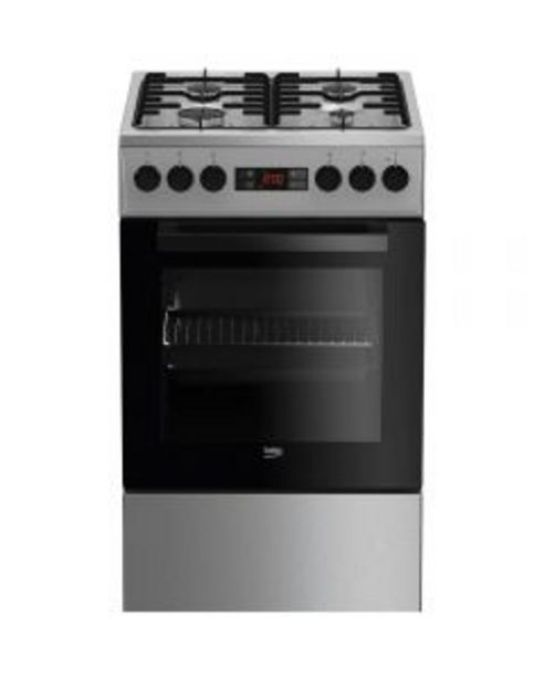 Ofertă Aragaz mixt Beko FSMT52320DXO, Cuptor electric, Grill, Rotisor, 4 arzatoare 1399,99 lei