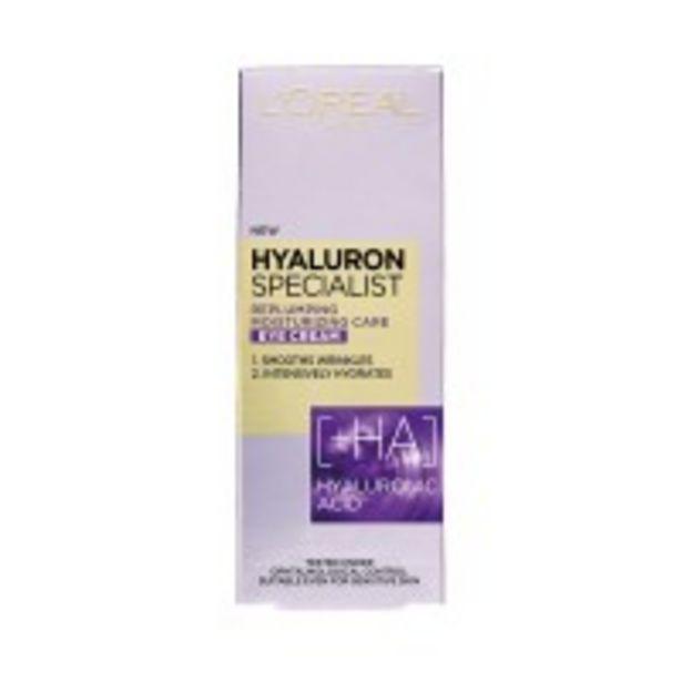 Ofertă Crema ochi Hyaluron Specialist 35 lei