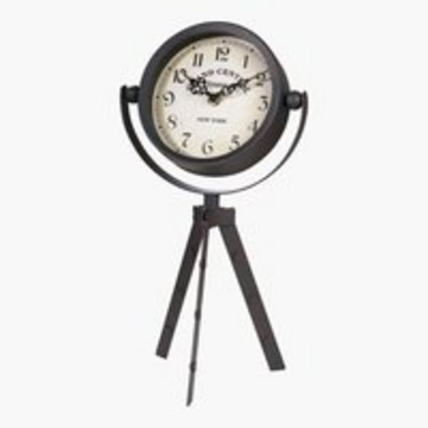 Ofertă Ceas EMANUEL 13x19x37cm negru 69,99 lei