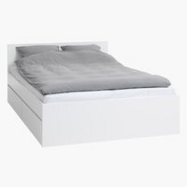 Ofertă Cadru pentru pat LIMFJORDEN 140x200 alb 1000 lei
