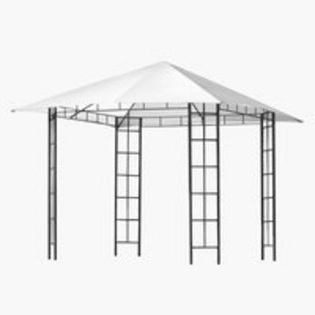 Ofertă Acoperis pavilion FAABORG 300x300 alb 150 lei