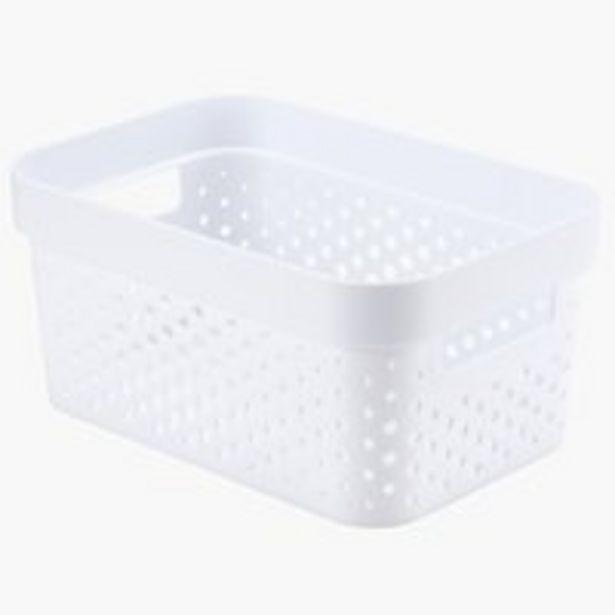Ofertă Cos INFINITY 4,5L plastic alb 11,5 lei
