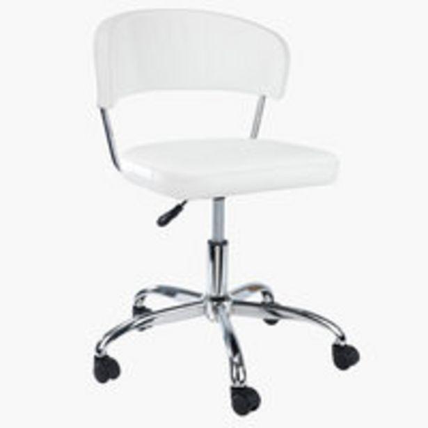 Ofertă Scaun de birou SNEDSTED alb 235 lei