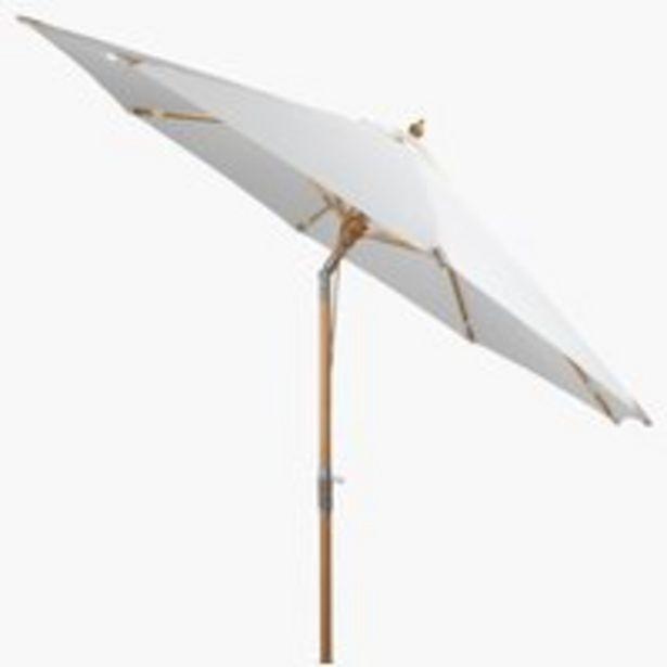 Ofertă Umbrelă de soare LEMVIG 300 alb murdar 300 lei