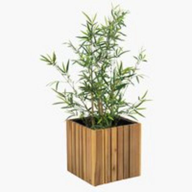 Ofertă Jardinieră grădină MYRHAUK 34x34x32 lemn 329 lei