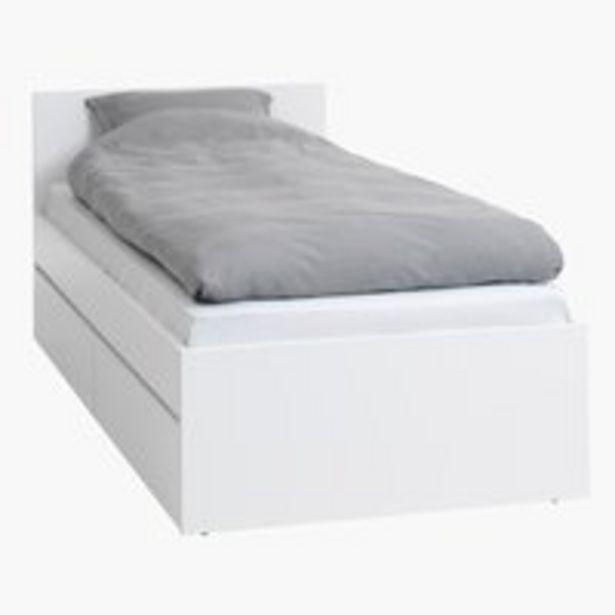 Ofertă Cadru pentru pat LIMFJORDEN 90x200 alb 750 lei