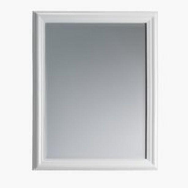 Ofertă Oglindă MARIBO 70x90 alb lucios 135 lei