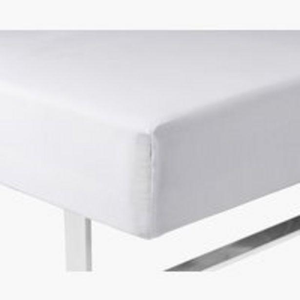 Ofertă Cearșaf elastic 90x200x35cm alb KRONBORG 50 lei