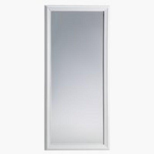 Ofertă Oglindă MARIBO 72x162 alb lucios 250 lei