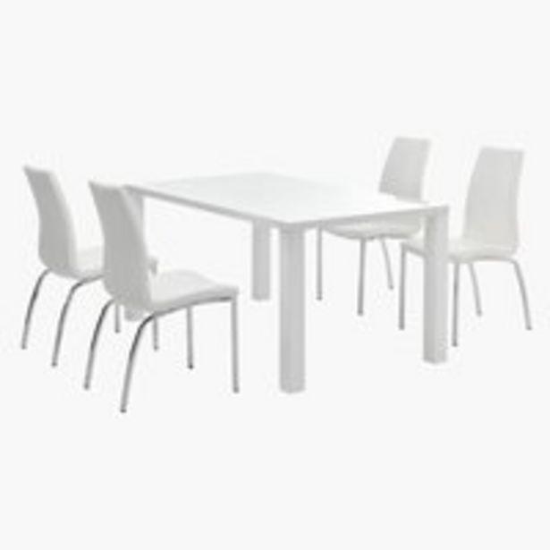 Ofertă OMME L160 alb + 4 HAVNDAL alb 2097 lei