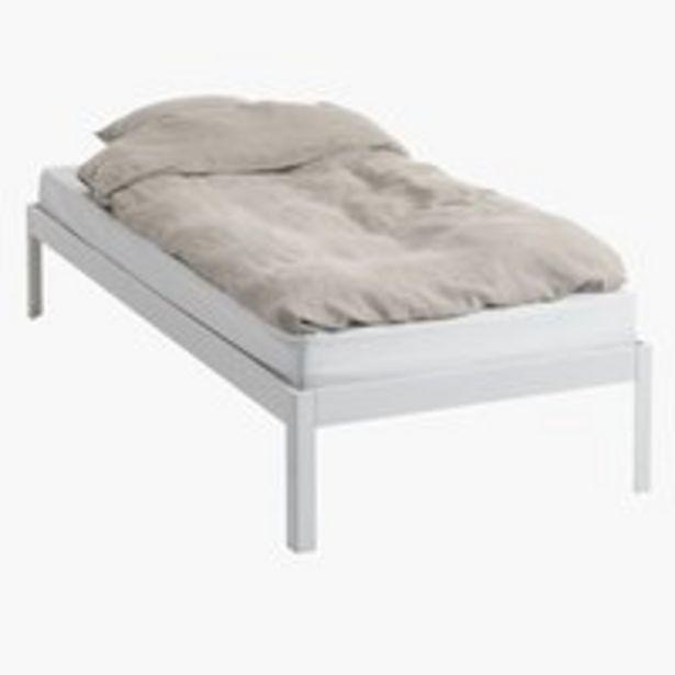Ofertă Cadru pat POLDEN 90x200 alb 450 lei