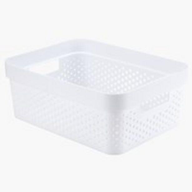 Ofertă Cos INFINITY 11L plastic alb 15 lei