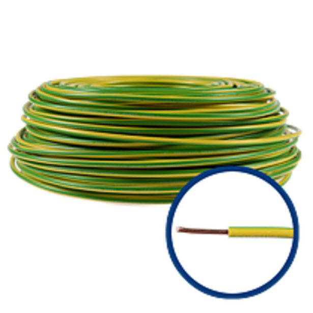 Ofertă Cablu electric FY/ H07V-U 6 mm galben - verde 3,12 lei