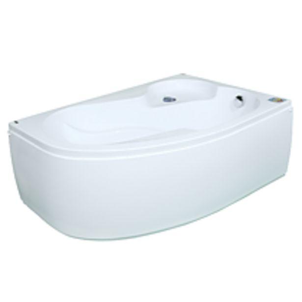 Ofertă Cada de colt pe stanga Silvana, acril sanitar, alb, 1500 x 1000 mm 759,35 lei