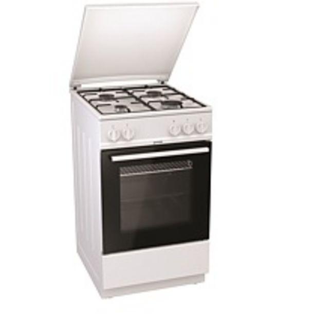 Ofertă Aragaz Gorenje G5111WJ, 50 × 85 × 59,4 cm, gaz, cuptor 70 l, alb 840 lei