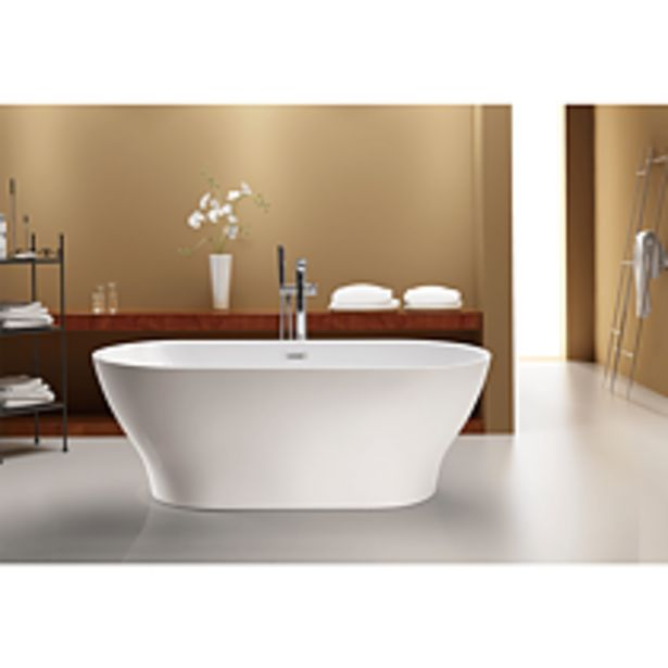 Ofertă Cada Lucite, acril sanitar, 1700 x 800 x 610 mm, alb 134 lei