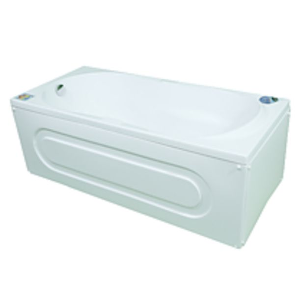 Ofertă Cada baie acril sanitar, Arabella, 1700 x 700 mm, alb 516,61 lei