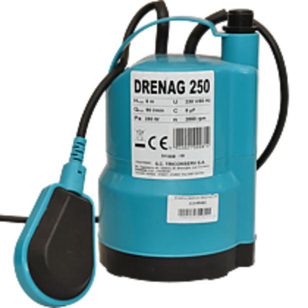 Ofertă Pompa submersibila Economy DRENAG 250, 370W, 5.4 mc/h, 3 kg 170,66 lei