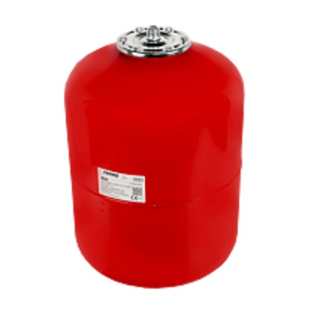 Ofertă Vas de expansiune pentru apa calda, Ferro CO50W, R50, montaj suspendat, rosu RAL 3000, 50 l 196,39 lei