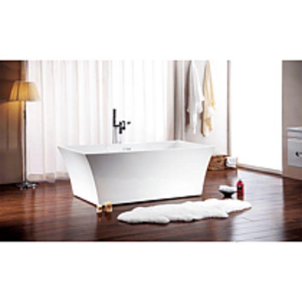 Ofertă Cada Kizomba, acril sanitar, 1690 x 790 x 590 mm, alb 134 lei