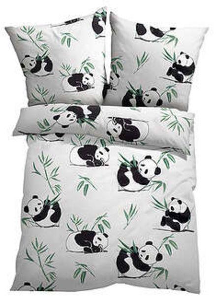 Ofertă Lenjerie pat cu panda 99,9 lei
