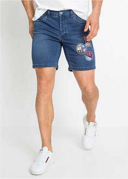 Ofertă Pantaloni scurţi din denim cu aplicații, Slim Fit 49,9 lei