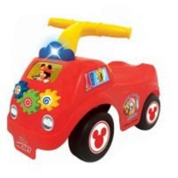 Ofertă Prima mea masina de pompieri fara pedale Kiddieland, Mickey Mouse 199,99 lei