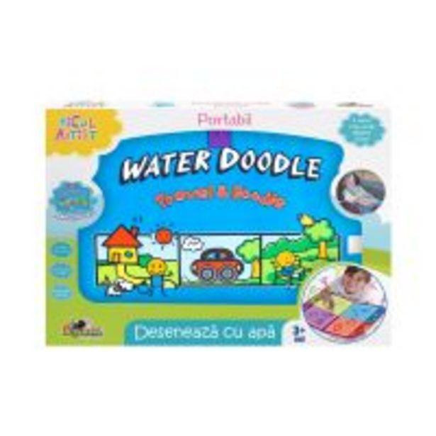 Ofertă Set de creatie Micul Artist, Deseneaza cu apa, Portabil 59,99 lei