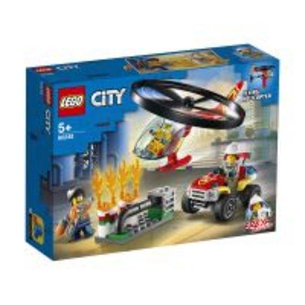 Ofertă LEGO® City - Interventie cu elicopterul de pompieri (60248) 131,99 lei