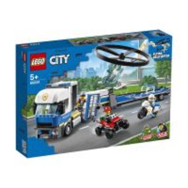 Ofertă LEGO® City Police - Transportul elicopterului de politie (60244) 222,99 lei