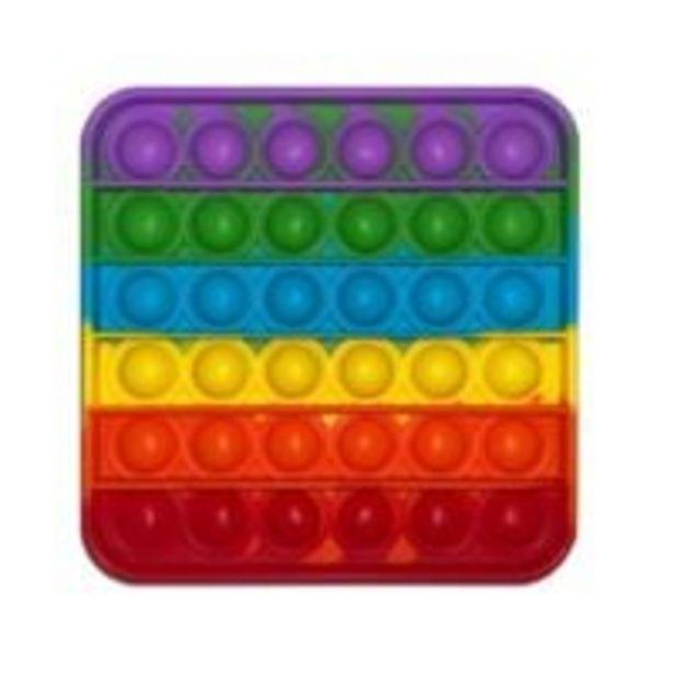 Ofertă Jucarie antistres Pop It Now, Forma patrata, Multicolor 29,99 lei