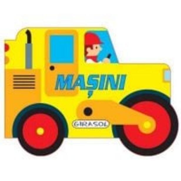 Ofertă Carte Girasol - Vehicule cu motor - Masini 29,99 lei