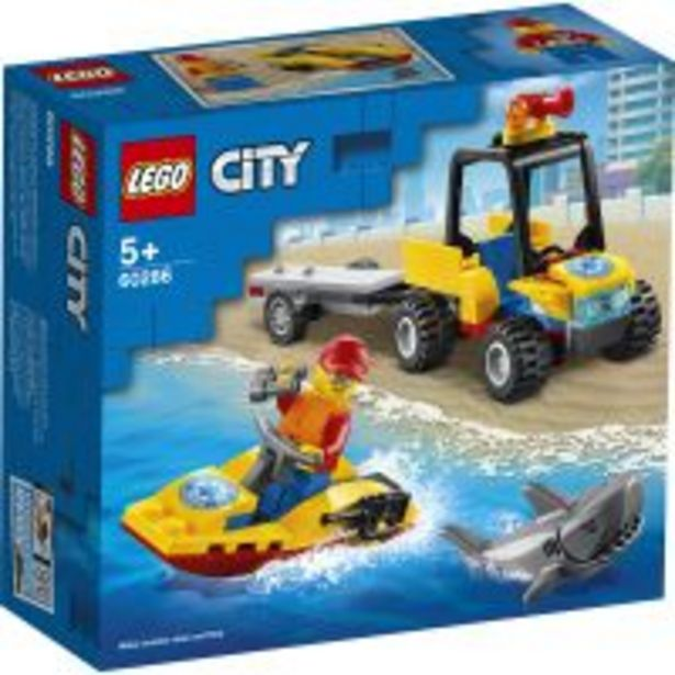 Ofertă LEGO® City - ATV de salvare pe apa (60286) 44,99 lei
