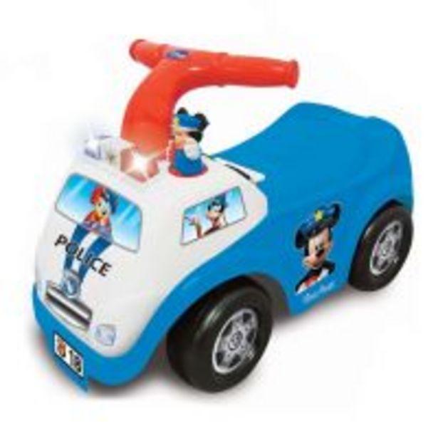 Ofertă Prima mea masina de politie fara pedale Kiddieland, Mickey Mouse 199,99 lei